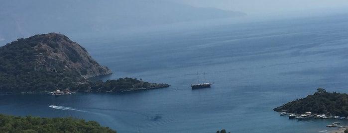 Gemiler Koyu Seyir Yeri is one of Fethiye.