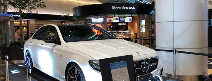 Mercedes me Tokyo HANEDA is one of Orte, die Hideo gefallen.