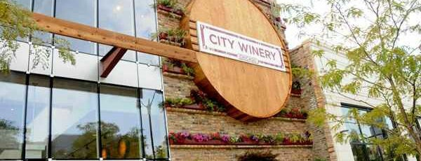 City Winery is one of Chicago Bucketlist.