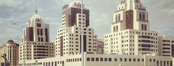 Radisson Bl - Astana is one of Radisson Blu Hotels.