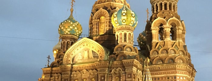 Church of the Savior on the Spilled Blood is one of Posti che sono piaciuti a Mayte.