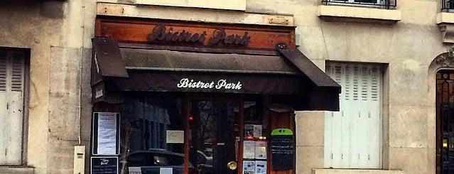 Bistrot Park is one of restos etc.
