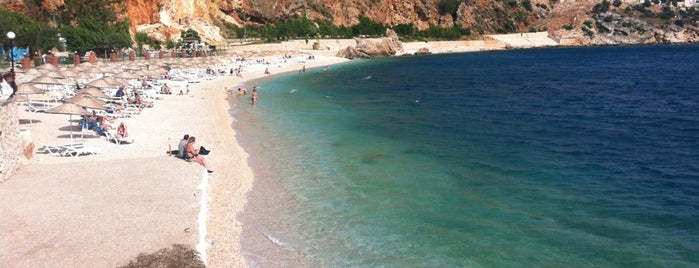 Kalkan Beach is one of antalya rota.