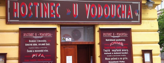 Hostinec U Vodoucha is one of Prague todo.