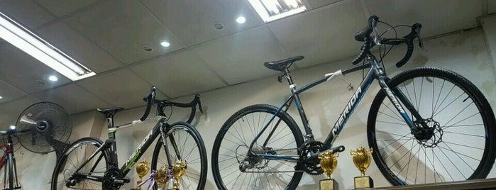 Cycle sport is one of Gespeicherte Orte von Beryl Anne.