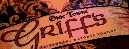 Griff's Restaurant & Sports is one of Hampton Roads Spots.