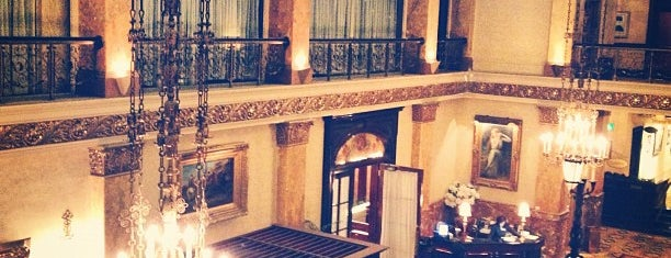 The Pfister Hotel is one of Must See Things In Milwaukee.