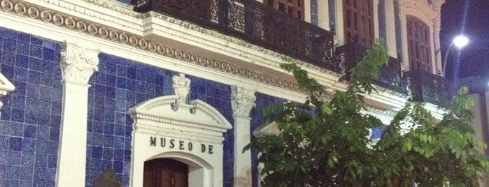 Casa de los Azulejos (Museo de Historia de Tabasco) is one of Sitios para visitar en México.