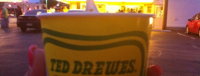 Ted Drewes Frozen Custard is one of Chrissy's Liked Places.