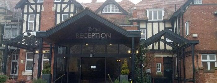 Chesford Grange Hotel is one of Orte, die ste gefallen.