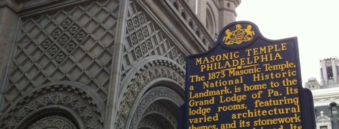 Masonic Temple Grand Lodge is one of Philadelphia.