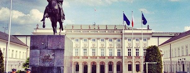 Pałac Prezydencki is one of Warsaw.