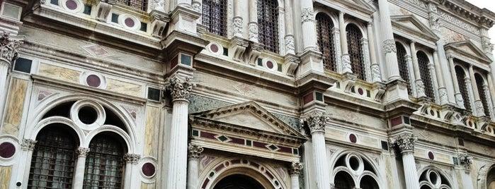 Scuola Grande Di San Rocco is one of Venice.