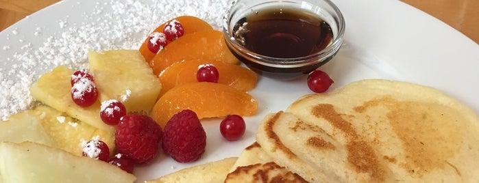 Kitchenette is one of Munich Breakfast.