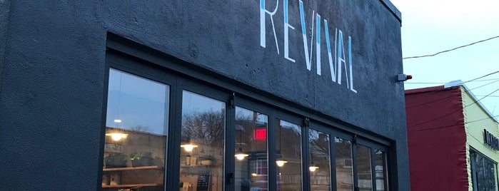 Revival Cafe is one of Bars and Restaurants in Boston.