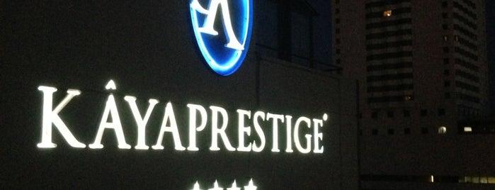 Kaya Prestige Hotel is one of Locais curtidos por Cem Yılmaz.