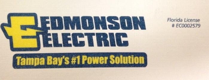 Edmonson Electric, Inc. is one of Lugares favoritos de Teresa.