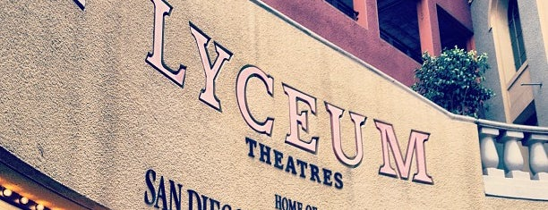 Lyceum Theatre is one of Coronado Island (etc).