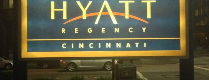 Hyatt Regency Cincinnati is one of Lugares favoritos de Arne.