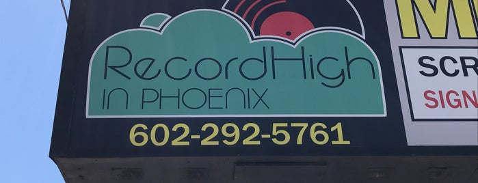 Record High is one of Record Shops.