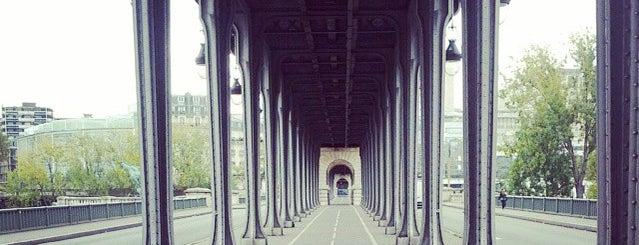 Pont de Bir-Hakeim is one of if you're ever in ____.