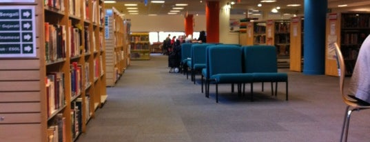 Hackney Central Library is one of Spring Famous London Story.