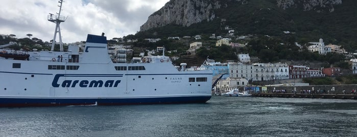 Caremar (ferry to Napoli) is one of My vacation @ IT.