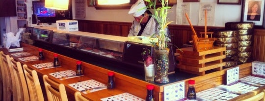 Hanabi Sushi Bar is one of Favorite CheapEats.