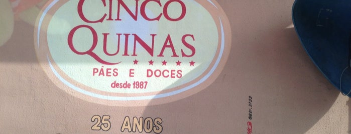 Panificadora Cinco Quinas is one of CAFE.