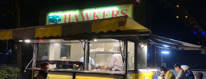 Hawkers is one of Gurgaon.