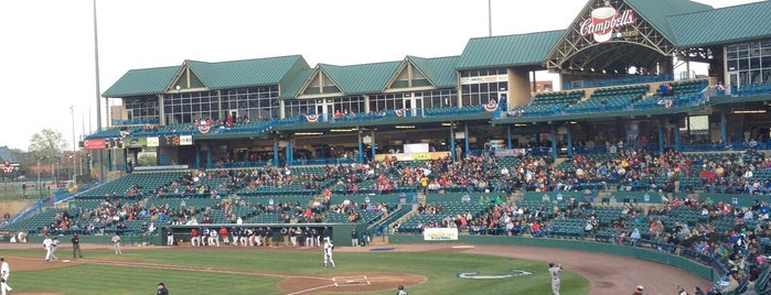 Campbell's Field is one of Atlantic League of Professional Baseball Stadiums.