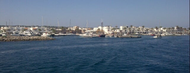 Marina de Formentera is one of Lugares favoritos de Aline.