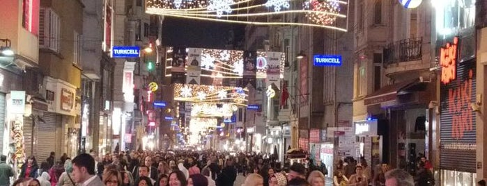 Taksim is one of Istanbul - En Fazla Check-in Yapılan Yerler-.