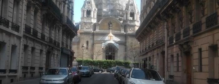 Cathédrale Saint-Alexandre-Nevsky is one of Paris Religiosa.