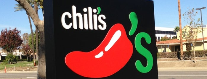 Chili's Grill & Bar is one of My regular stops.