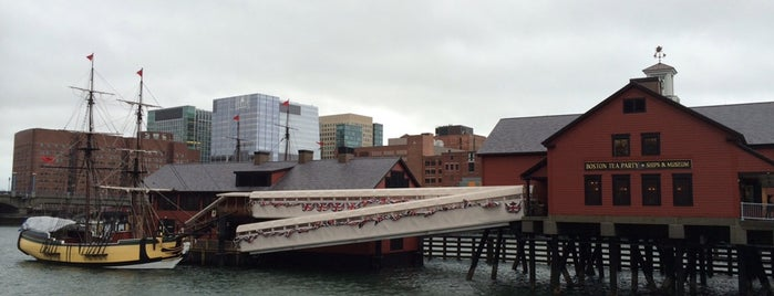 Boston Tea Party Ships and Museum is one of Boston: Fun + Recreation.