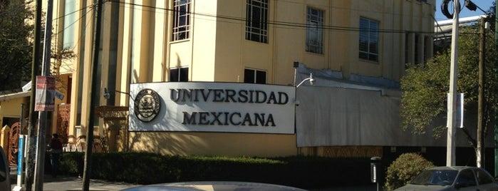 Universidad Mexicana Polanco is one of Tempat yang Disukai alejandro.
