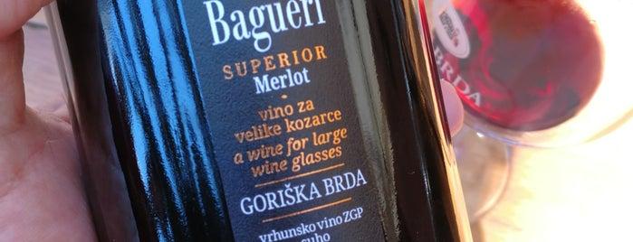 Vinoteka Brda is one of Lugares favoritos de Sveta.