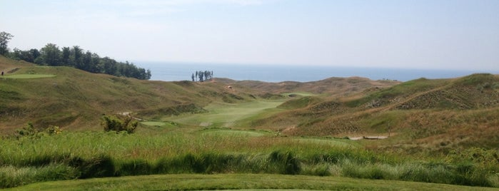 Arcadia Bluffs is one of Michigan Camping.