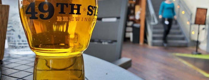 49th State Brewing is one of สถานที่ที่บันทึกไว้ของ Brent.