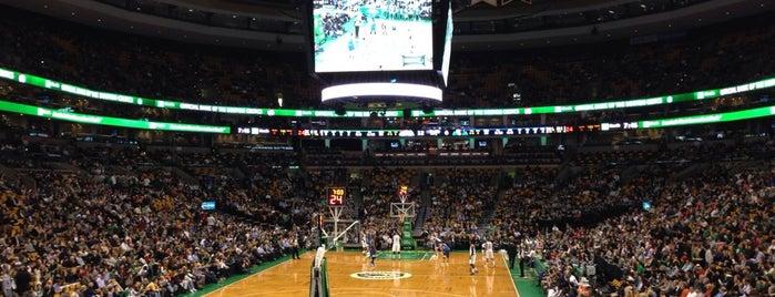 TD Garden is one of Boston.