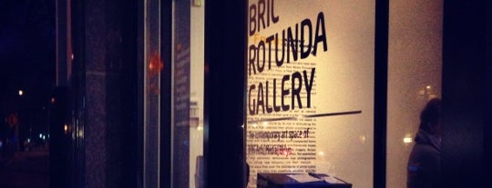 BRIC gallery is one of Brooklyn by Day (and night, ie mostly bars).