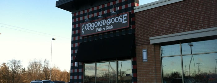 Crooked Goose is one of Lieux qui ont plu à Josh.