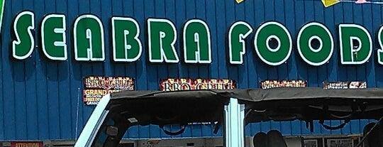 Seabras Supermarket is one of Delverde Pasta.