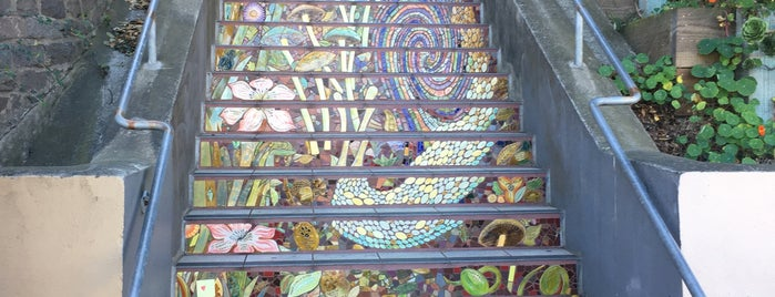 Hidden Garden Mosaic Steps is one of SanFran.