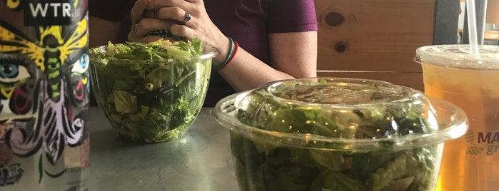 Mad Greens - Eat Better is one of Tempat yang Disukai kraig.