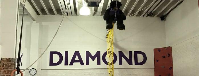 diamond gymnastics is one of Lugares favoritos de Faith.