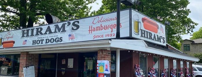 Hiram's Roadstand is one of Restaurants.