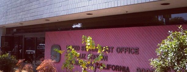 US Post Office is one of Lieux sauvegardés par Monkey.