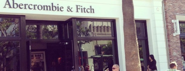 Abercrombie & Fitch is one of US Trip -CA.